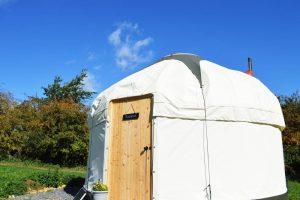 puddleduck glamping yurt