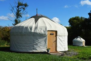 nutkin glamping yurt