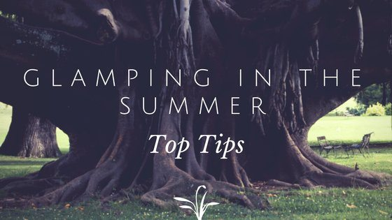 Glamping in the summer