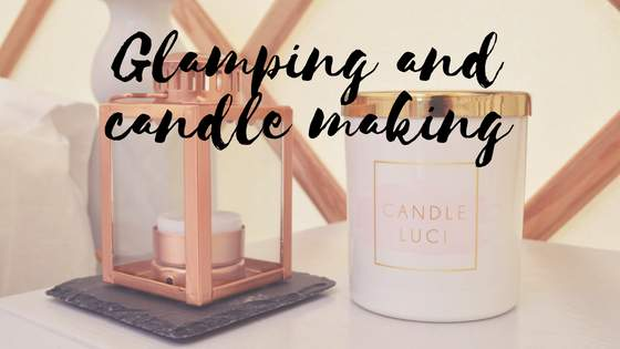Glamping activities: candle making workshop with Candle Luci