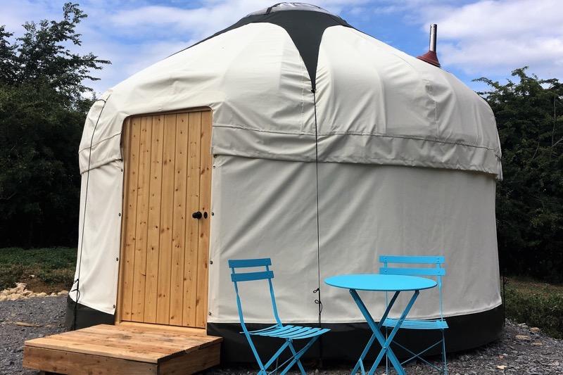 puddleduck yurt