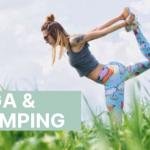 Yoga at the yurts