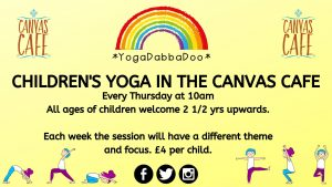 Children's Yoga at the Canvas Cafe