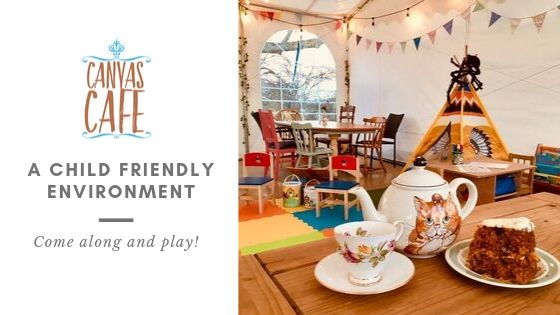 A child friendly environment at the Canvas Cafe