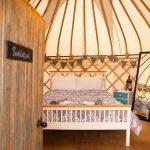 puddleduck yurt at country bumpkin yurts
