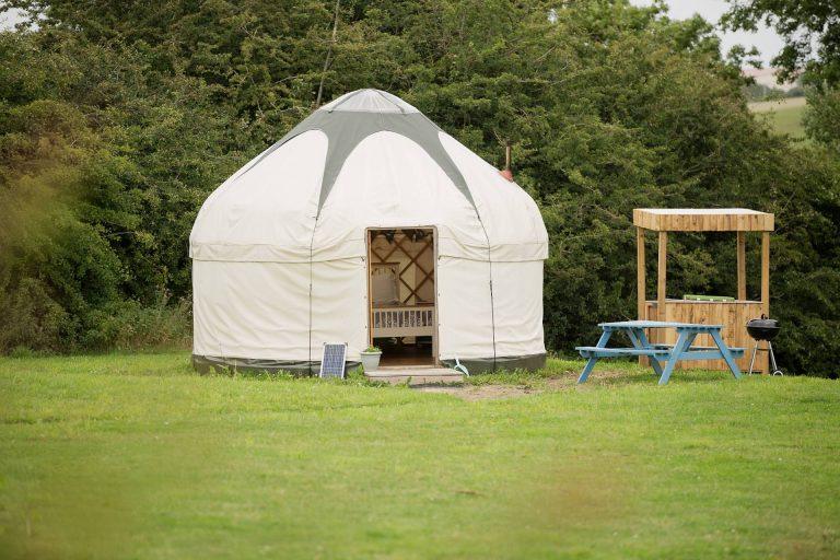 Puddleduck Yurt Camping