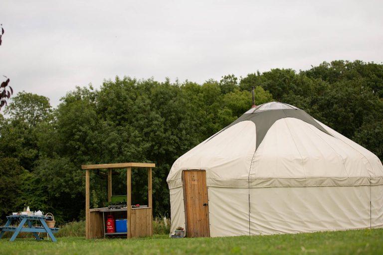 Ginger & Pickles Yurt Camping
